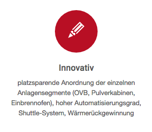 Pulverbeschichtung Innovation